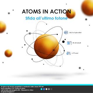 La copertina del regolamento di Atoms in Action