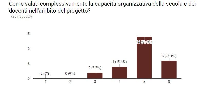 Capacità organizzativa della scuola