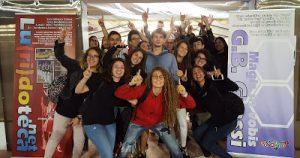 La classe 4°E alla Notte europea della ricerca (ARToV)
