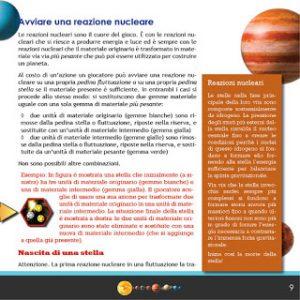 Qui una pagina del regolamento. Il box arancione sulla destra contiene uno degli approfondimenti di cui parliamo nel testo.