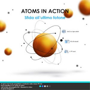 La copertina di Atoms in Action