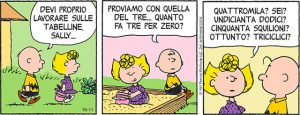 I Peanuts e la matematica