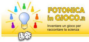 Il logo del concorso Fotonica in gioco