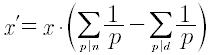 Derivata aritmetica di un numero reale