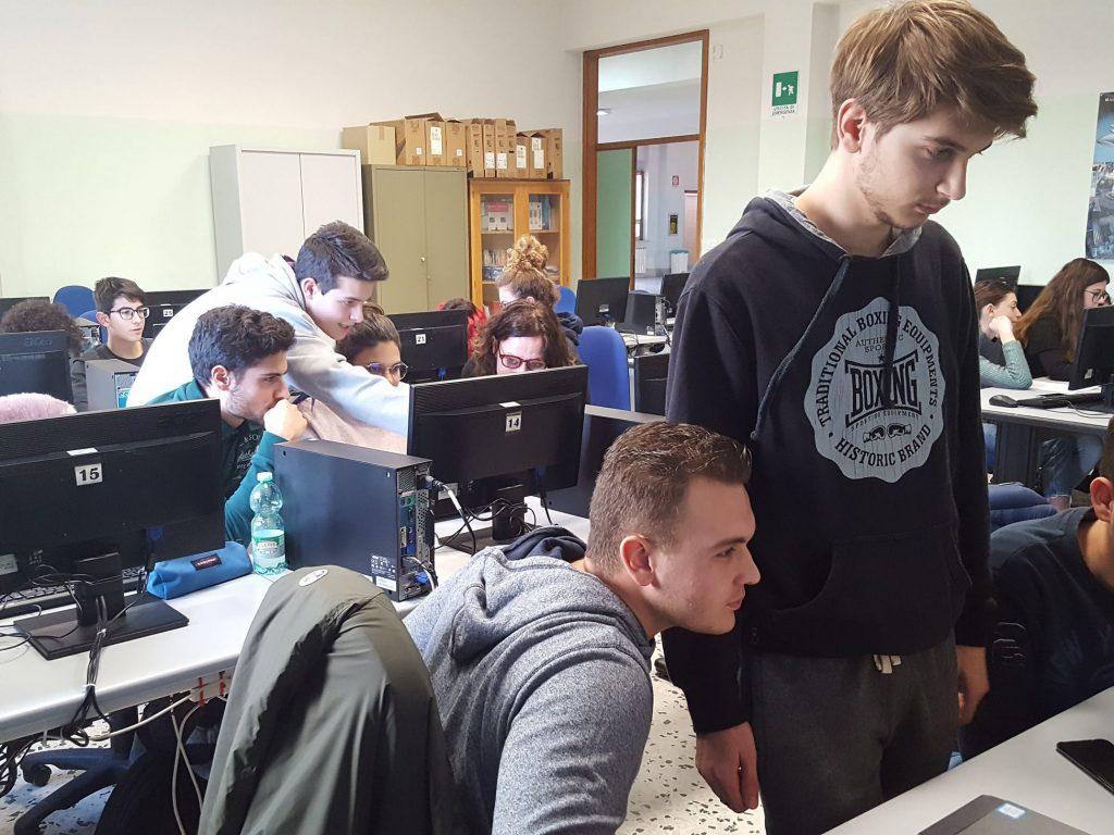 Il gruppo di lavoro di questo laboratorio.