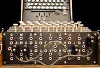 Il pannello di una macchina Enigma